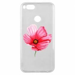 Чехол для Xiaomi Mi A1 Poppy flower