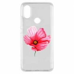 Чехол для Xiaomi Mi A2 Poppy flower