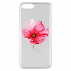 Чехол для Xiaomi Mi Note 3 Poppy flower