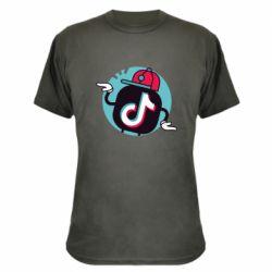 Камуфляжна футболка Dancing Tik tok