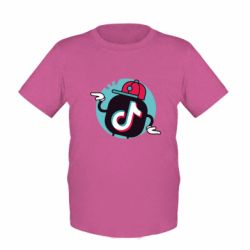 Дитяча футболка Dancing Tik tok