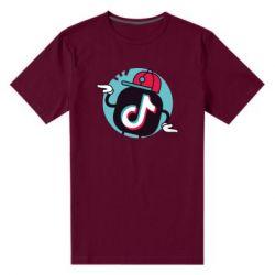 Чоловіча стрейчева футболка Dancing Tik tok