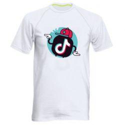 Чоловіча спортивна футболка Dancing Tik tok