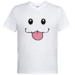 Чоловіча футболка з V-подібним вирізом Poro Camiseta lol