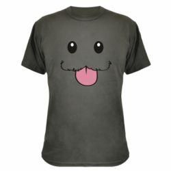 Камуфляжна футболка Poro Camiseta lol