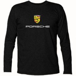 Футболка с длинным рукавом Porsche - FatLine