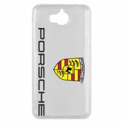 Чехол для Huawei Y5 2017 Porsche - FatLine