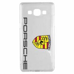 Чехол для Samsung A5 2015 Porsche - FatLine