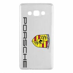 Чехол для Samsung A7 2015 Porsche - FatLine