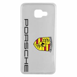 Чехол для Samsung A7 2016 Porsche - FatLine
