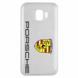 Чехол для Samsung J2 2018 Porsche - FatLine