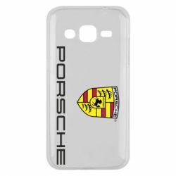 Чехол для Samsung J2 2015 Porsche