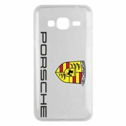 Чехол для Samsung J3 2016 Porsche
