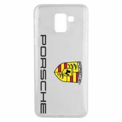 Чехол для Samsung J6 Porsche