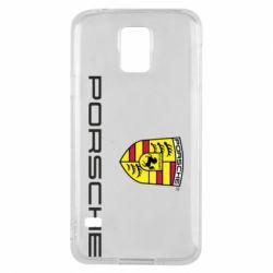 Чехол для Samsung S5 Porsche - FatLine