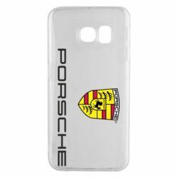Чехол для Samsung S6 EDGE Porsche