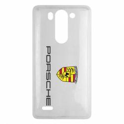 Чехол для LG G3 mini/G3s Porsche - FatLine