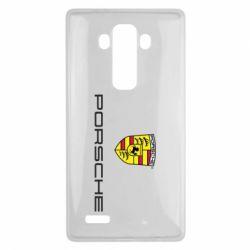 Чехол для LG G4 Porsche - FatLine
