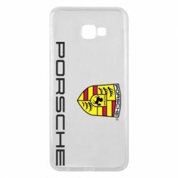 Чехол для Samsung J4 Plus 2018 Porsche - FatLine