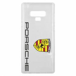 Чехол для Samsung Note 9 Porsche - FatLine