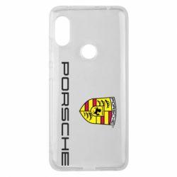 Чехол для Xiaomi Redmi Note 6 Pro Porsche
