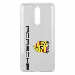 Чехол для Nokia 8 Porsche - FatLine