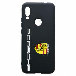 Чехол для Xiaomi Redmi 7 Porsche