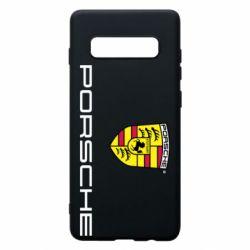 Чехол для Samsung S10+ Porsche
