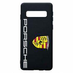 Чехол для Samsung S10 Porsche