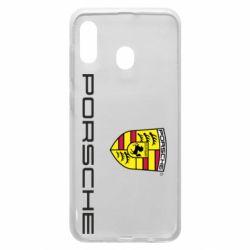 Чехол для Samsung A20 Porsche - FatLine