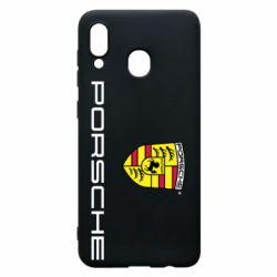 Чехол для Samsung A30 Porsche