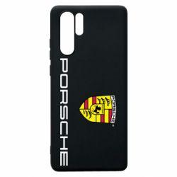 Чехол для Huawei P30 Pro Porsche - FatLine
