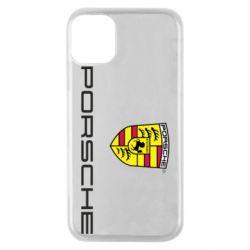 Чехол для iPhone 11 Pro Porsche