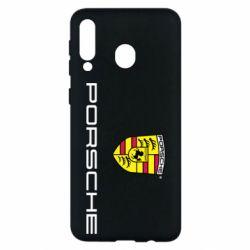 Чехол для Samsung M30 Porsche - FatLine