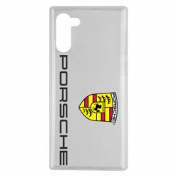Чехол для Samsung Note 10 Porsche - FatLine