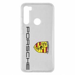 Чехол для Xiaomi Redmi Note 8 Porsche