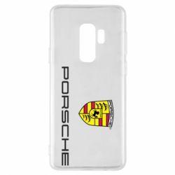 Чехол для Samsung S9+ Porsche - FatLine