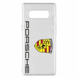 Чехол для Samsung Note 8 Porsche - FatLine