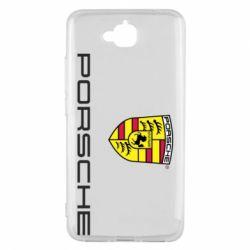 Чехол для Huawei Y6 Pro Porsche - FatLine