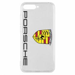 Чехол для Huawei Y6 2018 Porsche - FatLine
