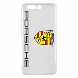 Чехол для Huawei P10 Plus Porsche - FatLine