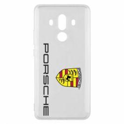 Чехол для Huawei Mate 10 Pro Porsche - FatLine