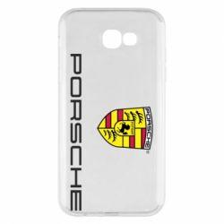 Чехол для Samsung A7 2017 Porsche