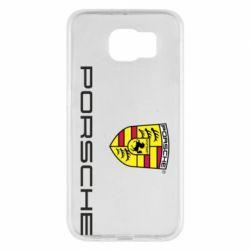 Чехол для Samsung S6 Porsche