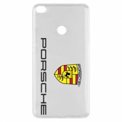 Чехол для Xiaomi Mi Max 2 Porsche