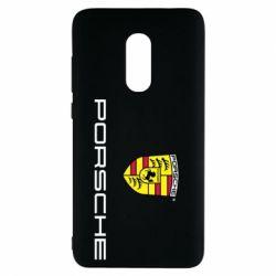 Чехол для Xiaomi Redmi Note 4 Porsche