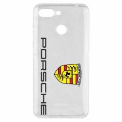 Чехол для Xiaomi Redmi 6 Porsche