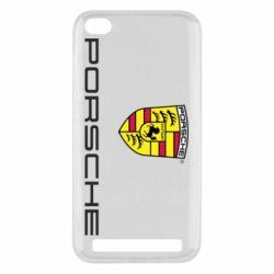 Чехол для Xiaomi Redmi 5a Porsche - FatLine