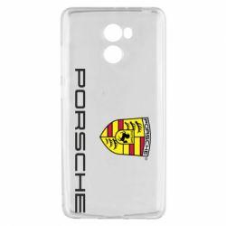 Чехол для Xiaomi Redmi 4 Porsche