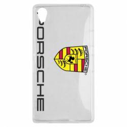 Чехол для Sony Xperia Z1 Porsche - FatLine